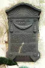 Immanuel Kant's tomb.