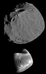 Phobos and Deimos.