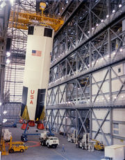 Apollo 8 Saturn V.