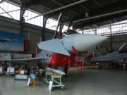 Eurofighter in the hangar.