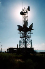 Microwave Relay Tower.