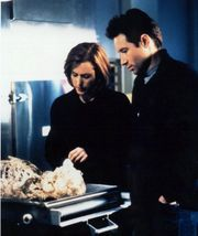 X-Files Dana Scully and Fox Mulder