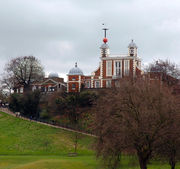 Greenwich Royal Observatory.