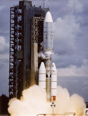 Voyager 2 launch.