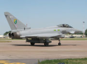 Eurofighter Typhoon F2.