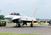 Eurofighter Typhoon T1.