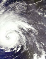 ESA's View of Hurricane Isabel.