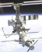 Space Station in Orbit.