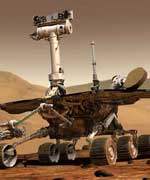 NASA's twin rovers, Spirit and Opportunity.