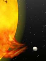 Planet is Causing Solar Storms.