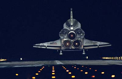 Space Shuttle's Return to Flight.