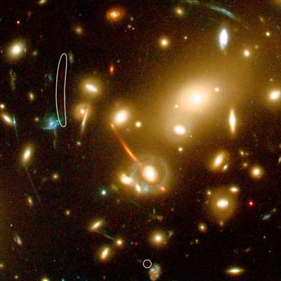 most distant Galaxy ever discovered.