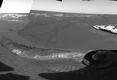 NASA's Opportunity rover.