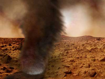 Martian Dust Devils.