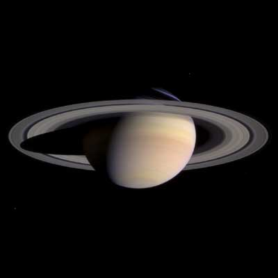 Saturn in Colour.