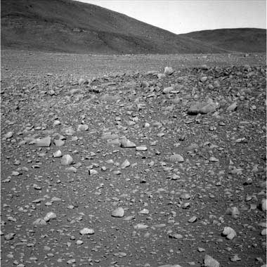Spirit Rover on Red Planet.