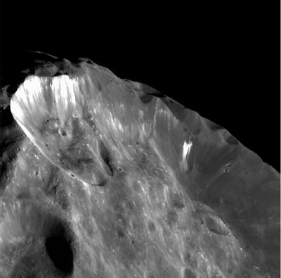 Saturn's Moon Phoebe.