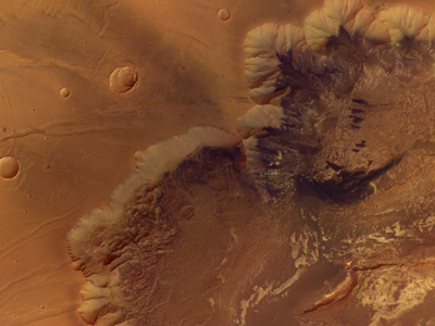 Valles Marineris Canyon.