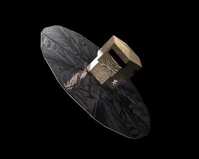 Gaia Spacecraft.
