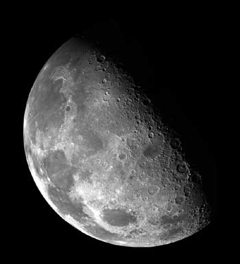 Moon crater.