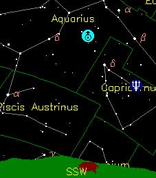 Moon rises to try your hand at finding Uranus and Neptune.