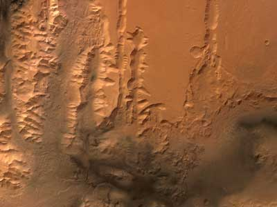Valles Marineris Mars.