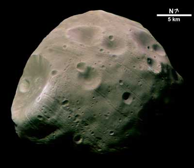 Martian Moon Phobos.