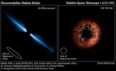 Spitzer and Hubble Space Telescope.