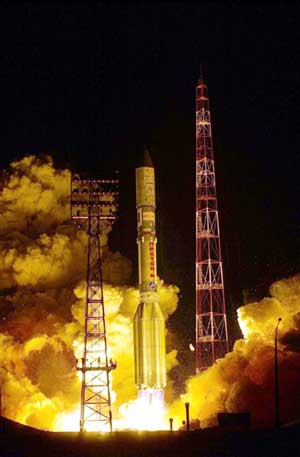 Atlas and Proton Launch.