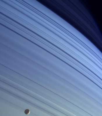 Saturn is a Little Blue.