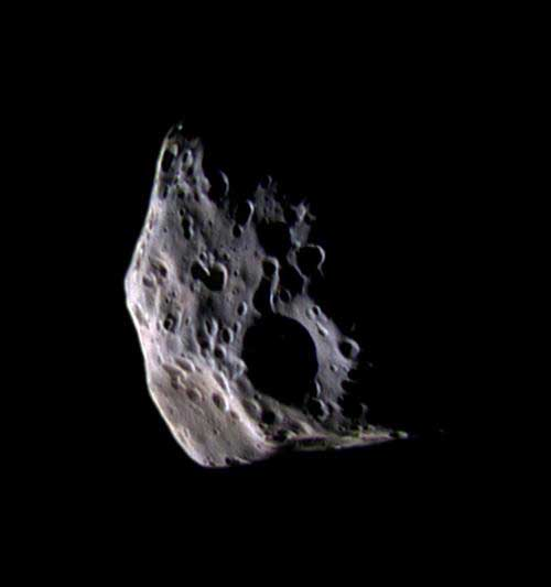 Saturn's Moon Epimetheus.
