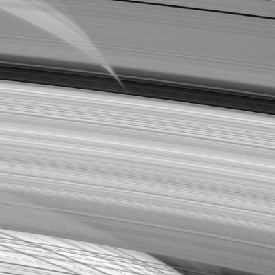 Cassini's beautiful view of Saturn.
