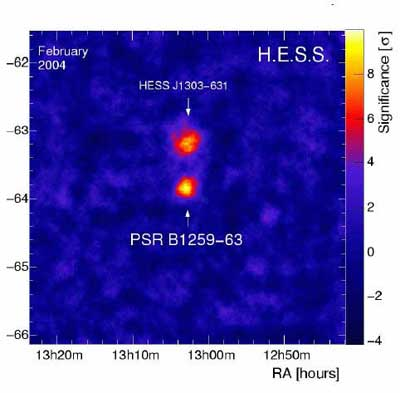HESS image of binary pair.