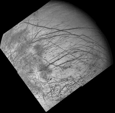 Could layers of ice on Europa.