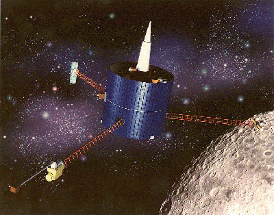 Lunar Prospector spacecraft.