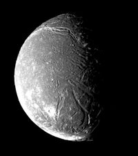 Ariel Moon Is A Moon Of The Planet Uranus.
