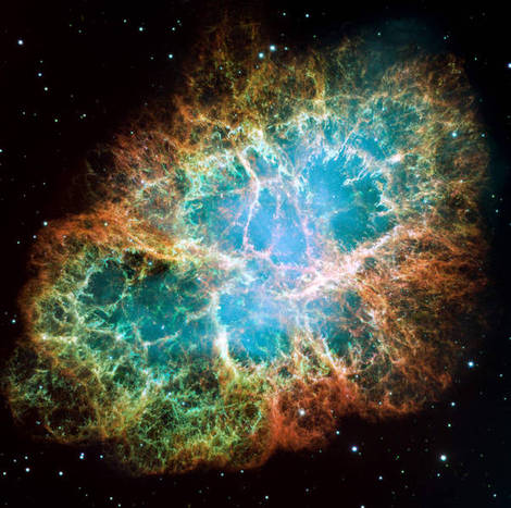 The Crab Nebula.