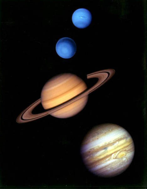 Outer planets.