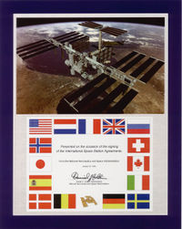 Space Station Agreement.