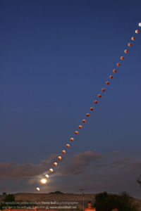 Lunar eclipse of October 2004.