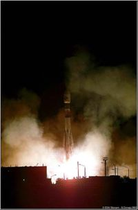 Mars Express launch.