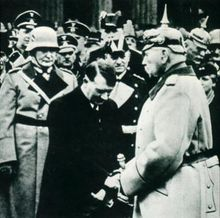 Hitler at Potsdam.