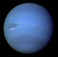 Neptune from Voyager 2.