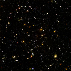 Hubble Ultra Deep Fields.