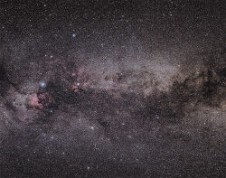 Milky Way in Cygnus.