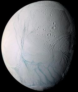Enceladus by Cassini-Huygens.