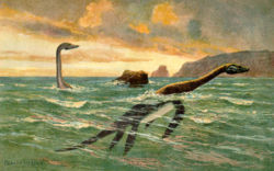 Loch Ness Monster: Plesiosaurs.