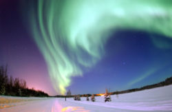 Aurora Borealis, or Northern Lights.