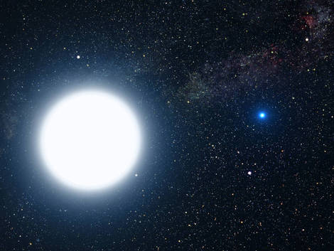 white dwarf star.