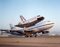 Space Shuttle Endeavour.
